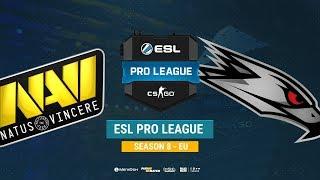 Na`Vi vs AGO - ESL Pro League S8 EU - bo1 - de_mirage [Mintgod, TheCraggy]