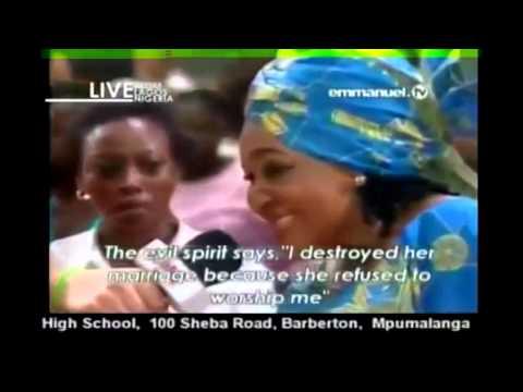 Jim Iyke and Camilia Mpkereke Parody on Naijas craziest (celebrity deliverances)