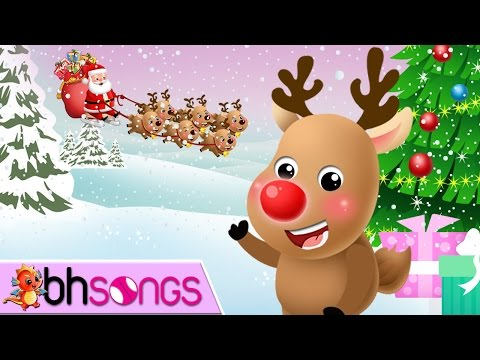 Rudolph The Red Nosed Reindeer Song With Lyrics   Christmas Song