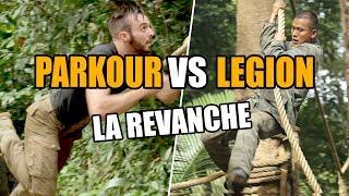 Parcours du combattant : LEGION vs PARKOUR, LA REVANCHE !!