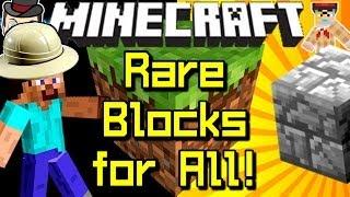 Minecraft News RARE BLOCK Gets Crafting Recipe!