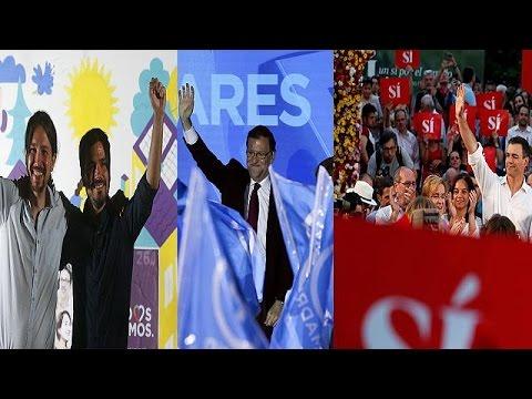 Ισπανία: Στην προεκλογική μάχη τα κόμματα