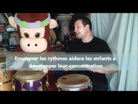 CD Rythmes et tambours, le�on 2