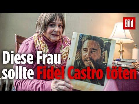 Marita Lorenz- die Geliebte von Fidel Castro, Spionin  ...