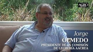 Jorge Olmedo - Presidente de la Comisión de Lechería AACREA