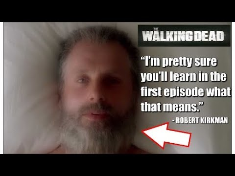"The Walking Dead Season 8 - Old Man Rick News ""I'm pretty sure you'll learn in the first episode wha"