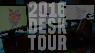 INDETALIED DESK SETUP TOUR - THE ULITMATE GAMING SETUP 2016---------------------------------------------------------------------Thanks for watching  ( ͡° ͜ʖ ͡°)Monitors- http://www.amazon.co.uk/Logik-L22FED13--inch-pixels-Player/dp/B00IVV1JPU/ref=sr_1_1?ie=UTF8&qid=1454180537&sr=8-1&keywords=logik+tvMouse- http://www.amazon.co.uk/TeckNet-RAPTOR-Gaming-Button-weight-x/dp/B00E290JRE/ref=sr_1_2?ie=UTF8&qid=1454180504&sr=8-2&keywords=tecknet+mouseKeybored- http://www.ebay.co.uk/itm/Corsair-Vengeance-K70-Factory-Refurbished-Mechanical-Gaming-Keyboard-Black-Cherr-/131694022716?hash=item1ea993503c:g:YskAAOSwL7VWjOa~mouse mat- http://www.ebay.co.uk/itm/RAZER-GOLIATHUS-2013-PRECISE-CONTROL-SOFT-ANTI-SLIP-GAMING-MOUSE-MAT-NEW-/191711721691?hash=item2ca2e8b8db:g:gowAAOSwhcJWF0sfWebcam- http://www.amazon.co.uk/Logitech-C270-HD-Webcam-Black/dp/B003R1O320/ref=sr_1_1?ie=UTF8&qid=1454180793&sr=8-1&keywords=logitech+c270Subscriber here - http://bit.ly/1XbSoXLINTRO SONG- https://www.youtube.com/watch?v=O5wlxT9ygtYHOW TO GET FREE PAYPAL MONEY/ GIFTCARDS - FREE PayPal Money http://featu.re/QSRC99YouTube Sponsorship -  http://bit.ly/1MRQJ4NYouTube- Milts1gamig/JoshAFKTwitter- @milts1gamingPSN- Milts1gamingSteam- Jmilts3030Facebook- Who the hell uses FacebookPlease be respectful in the comment, do not reply to hate just dislike and report.Thanks For WatchingMilts1GamingFAQ-PC SpecsAMD A8 QUAD CORE 3.60GHZ 12BG DDR3 RAMNIVIDIA GTX 750 2GB1TB WD HARD-DRIVEWhat do you record with?I record with a elgato  and frapsWhat mic do you use? I use the blue yeti :)