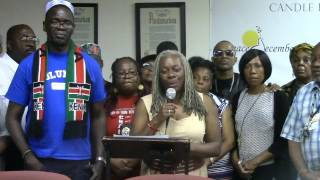 Nick Ogutu Live- New York Voices for Peace in Kenya