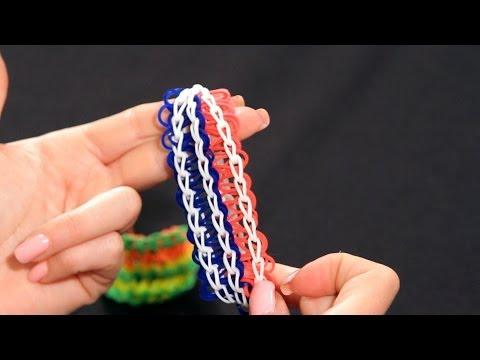How to Make a Cobra Bracelet | Rainbow Loom