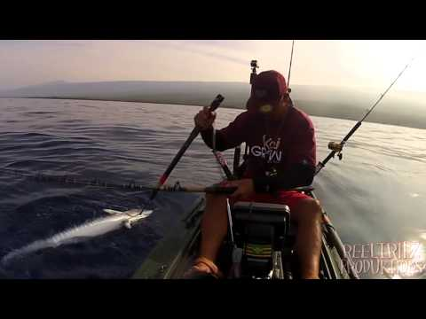 EXTREME KAYAK FISHING HAWAII - REEL TRIPZ 3  - kayak fishing, kayak photos, kayak videos