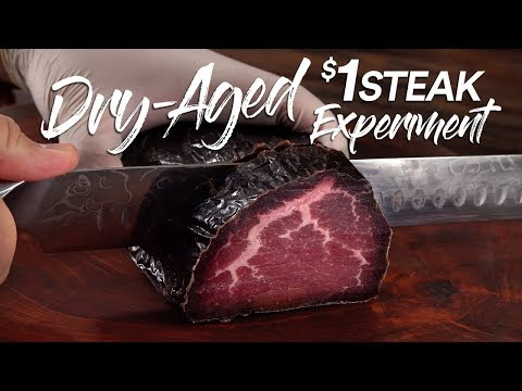 Can DRY AGE save a $1 Steak?   Guga Foods