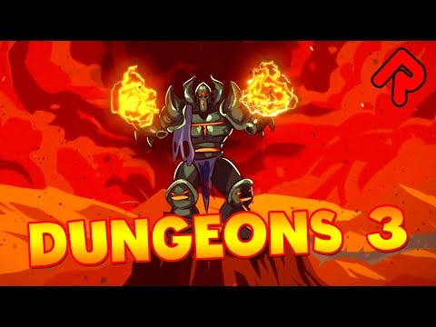 Dungeons 3: Dungeon Manager with Overworld RTS! | Let's play Dungeons 3 gameplay impressions (PC) (видео)