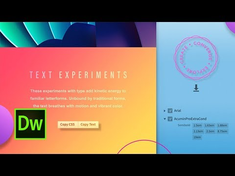 Grab Web Design Info From Photoshop Files Using Dreamweaver | Adobe Creative Cloud