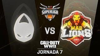 X6TENCE VS MAD LIONS - SUPERLIGA ORANGE COD - JORNADA 7 - #SuperligaOrangeCOD7