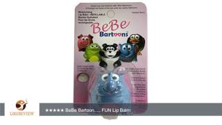 Review about Bebe Bartoons Kids Lip Balms Characters and Refills-Style - Elephant Hello, this is LogiReview a generative user-...