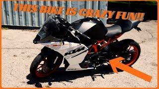 8. KTM RC390 Test Ride Review