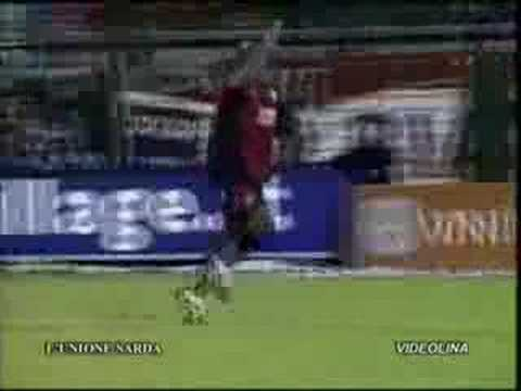 Lo Mejor de La Pantera en el Cagliari