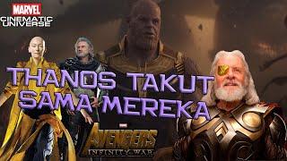 Video Karena 3 Karakter Ini, THANOS Tidak Berani Untuk Menyerang ! Avengers Infinity War Theory Indonesia MP3, 3GP, MP4, WEBM, AVI, FLV November 2018