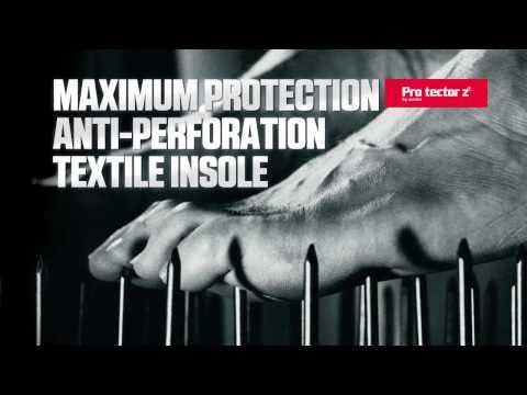 Plantilla textil antiperforación Pro tector Z®. Pro Tector Z® fabric antiperforation insoles