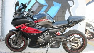 4. February 25, 22012 Yamaha FZ6R... Very clean with ONLY 5938 miles!