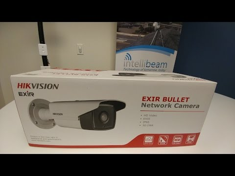 Hikvision DS-2CD2T42WD-I5 4MP IP Camera unboxing by Intellibeam.com