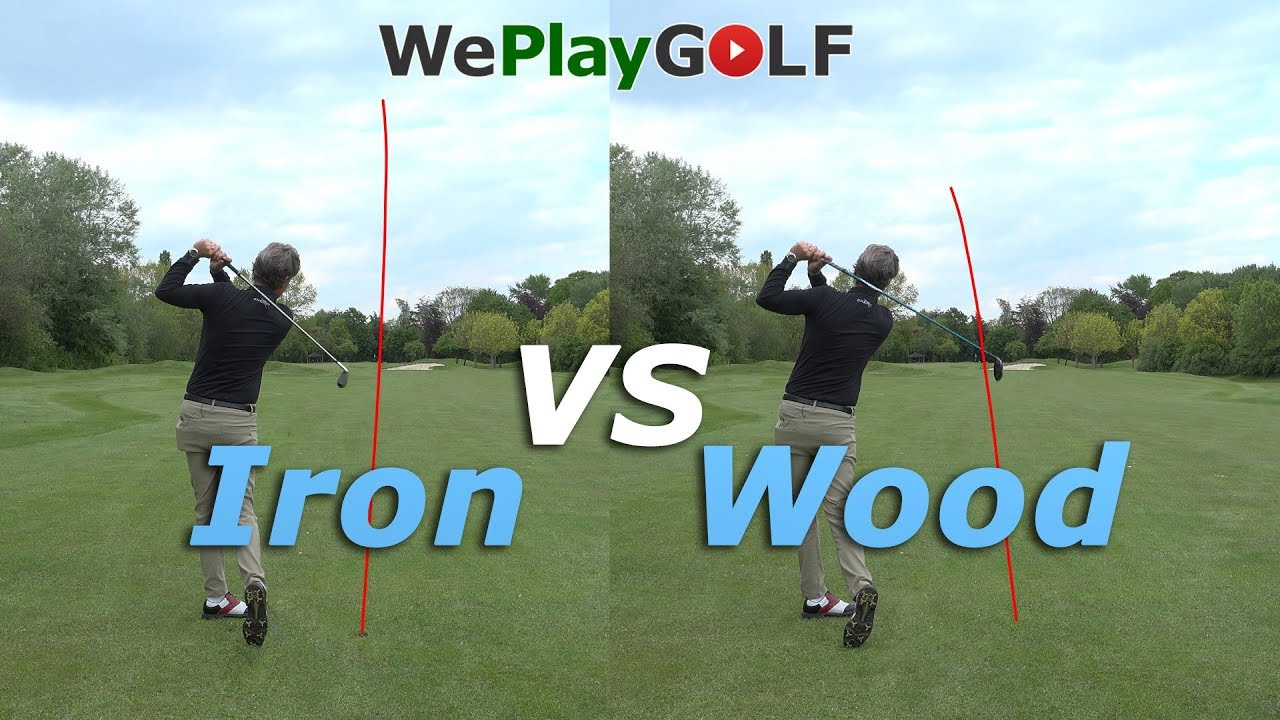 Iron swing vs fairway wood swing: differences explained