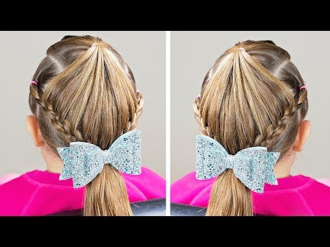 Easy hairstyles - HAIRSTYLE WITH ELASTICS - EASY HAIRSTYLE BRAID