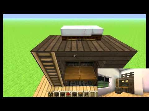 【Minecraft】建築館 - 書桌床組合