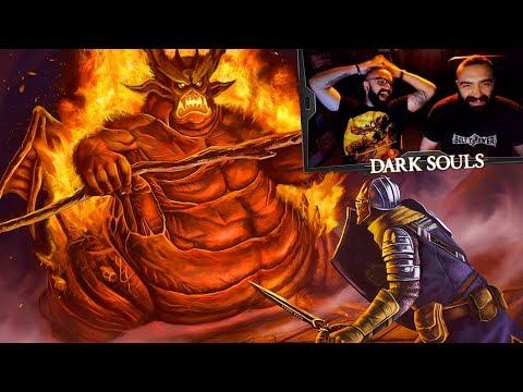 Η ΣΚΟΤΕΙΝΗ ΜΟΥ ΨΥΧΟΥΛΑ! | UH play Dark Souls: Remastered