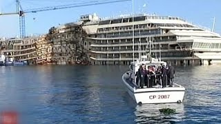 В Италии помянули жертв кораблекрушения у острова Джильо