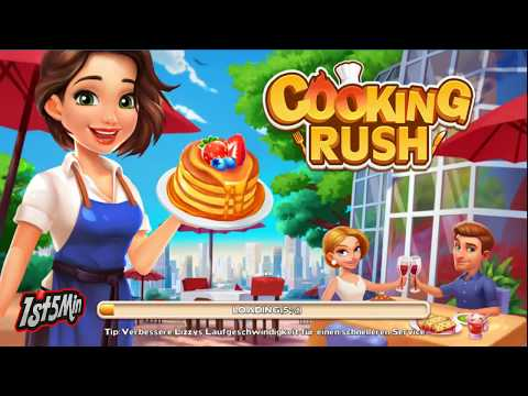 Cooking Rush - Chef's Fever Games - Gameplay - First Look