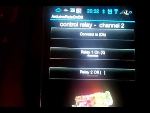 Video of PLC 2 relay remote control net