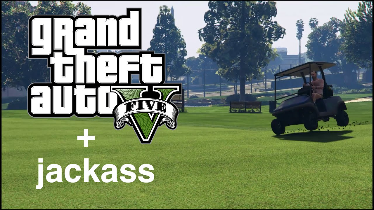 [GTA V] Hi, I'm Trevor Philips – Welcome to Jackass! (GTA V Jackass Clip)