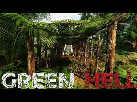 Green Hell - Building A Giant Shelter - Predator Attacks! - Green Hell Gameplay Highlights