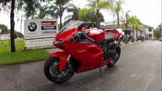 8. 2010 Ducati 1198 Red at Euro Cycles of Tampa Bay