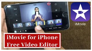 iMovie Free Video editor for iPhone | iMovie tutorial in Hindi / Urdu | Free video editor