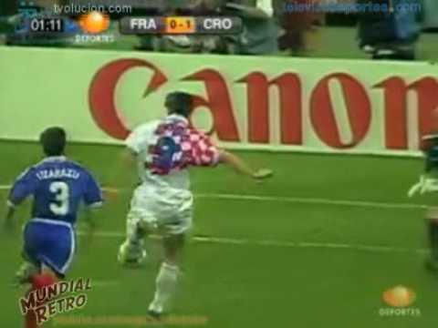 Resumen Francia vs Croacia Francia 98 - Mundial Retro
