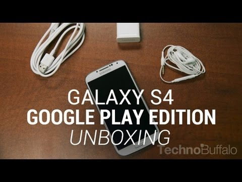 jon4lakers - Samsung Galaxy S4 Google Play Edition Unboxing! Google Play edition (pure Android) devices went on sale last week on the Google Play Store, and they have sta...