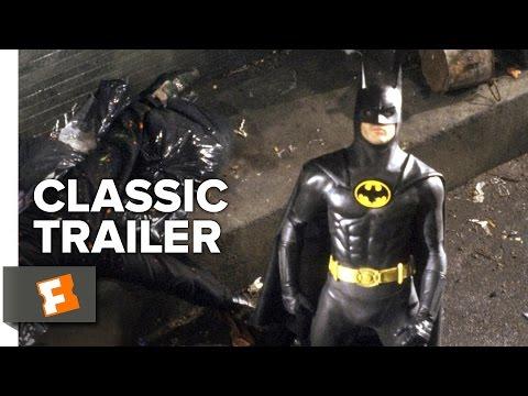 Batman (1989) Official Trailer #1 - Tim Burton Superhero Movie