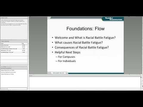 Racial Battle Fatigue 7 26 17