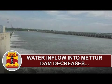 Inflow-into-Mettur-Dam-decreases-as-Water-Release-from-Karnataka-Dams-stopped