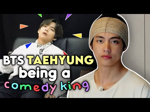 BTS taehyung being effortlessly funny