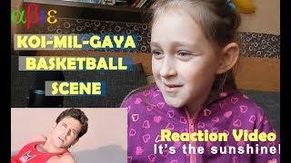 Foreign Kid Reacts To Koi-Mil-Gaya Basket Ball Scene | Hrithik Roshan