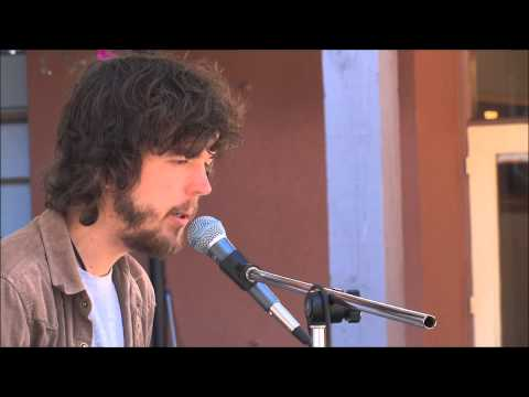 Jason Lowe at the Market Square Courtyard Sessions: A Case of You (Joni Mitchell cover)