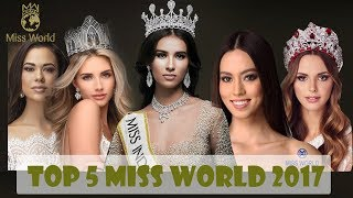 Video top 5 Final Miss World 2017 Prediction MP3, 3GP, MP4, WEBM, AVI, FLV Februari 2018