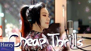 Video Cheap Thrills + Down (Cover by J.Fla) [1 Hour Version] MP3, 3GP, MP4, WEBM, AVI, FLV Januari 2018