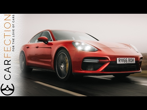 Porsche Panamera Turbo: There's No Such Thing As Too Much Power - Carfection (видео)