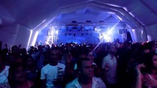 DJ Scuff En La Rumba De Brugal EN VIVO!