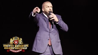 Nonton Triple H Kicks Off The Beginning Of A New Empire  Wwe United Kingdom Championship Tournament Film Subtitle Indonesia Streaming Movie Download