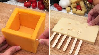 A Magical Melting Cheddar Cheese Cube 🧀  3 Easy Fondue Towers 😱 and 6 More Brillant Cheese Hacks